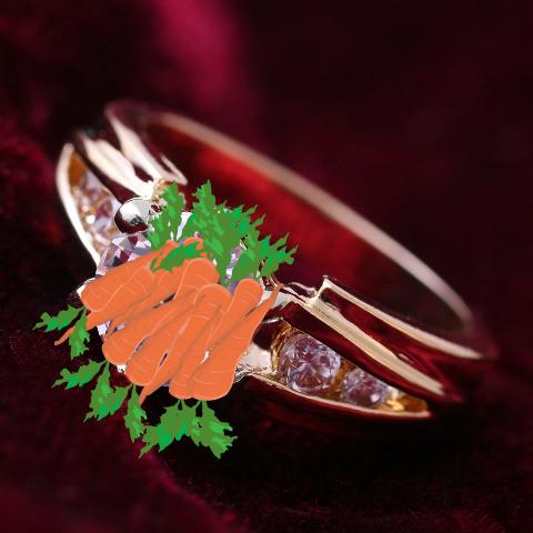 Carrot Ring Joke 10 Carrot Ring Pictured