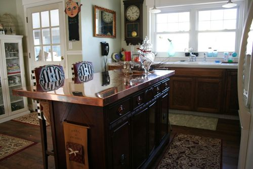 Kitchen Remodel Convert A Dresser Into A Kitchen Island