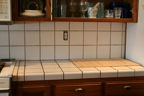 Before backsplash