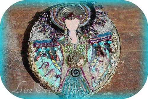 Goddess Hand Mirror (close up)